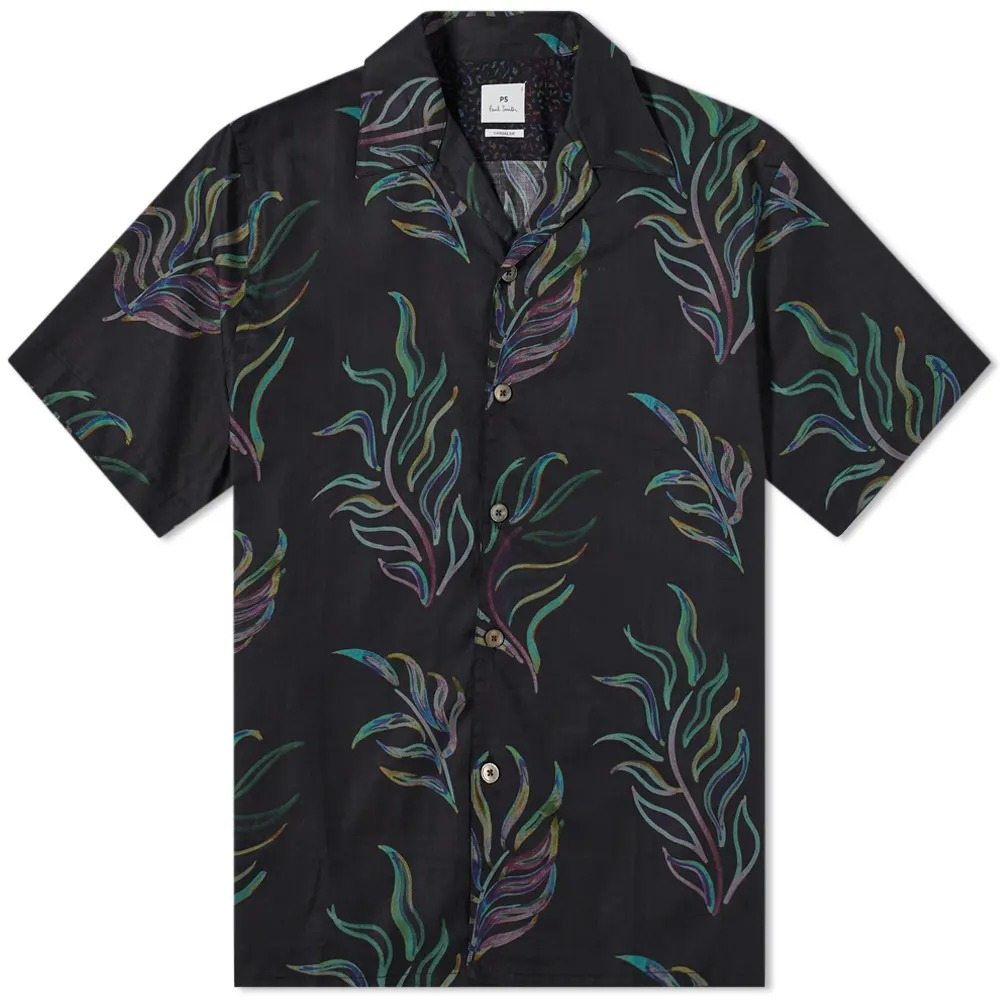 End Clothing Paul Smith Leaf Print Vacation Shirt