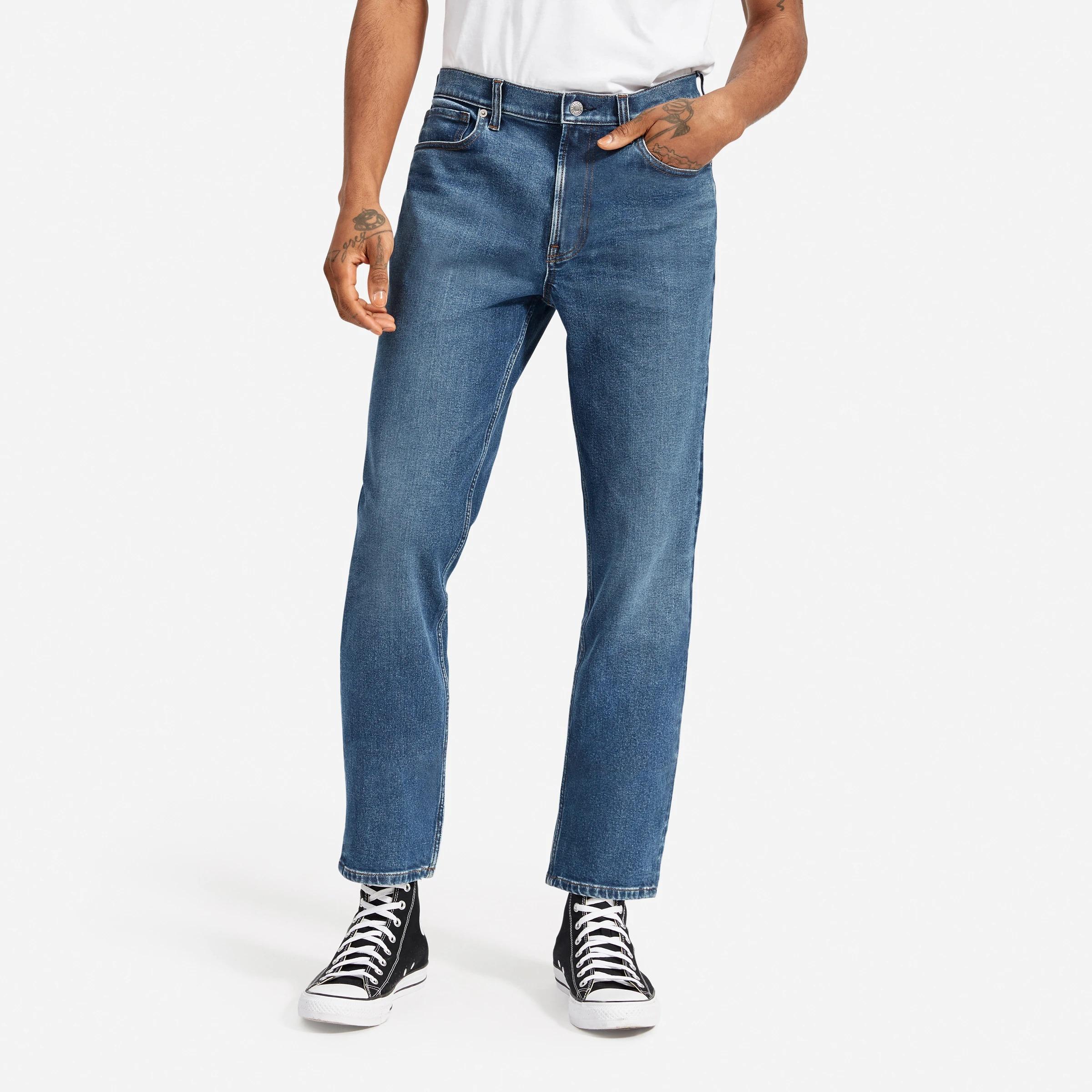 EverlaneRelaxed 4-Way Stretch Organic Jean
