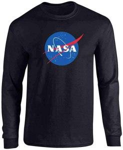NASA long sleeve t-shirt, best NASA merch