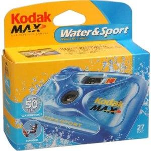 New Kodak Weekend Underwater Disposable Camera