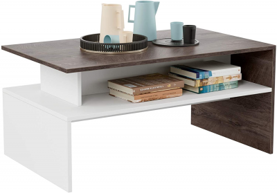 Homfa modern coffee table