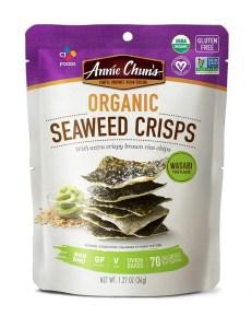 Annie Chun's Organic Seaweed Crisps, Best Seaweed Snacks