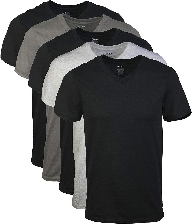 Gildan V-Neck T-Shirts