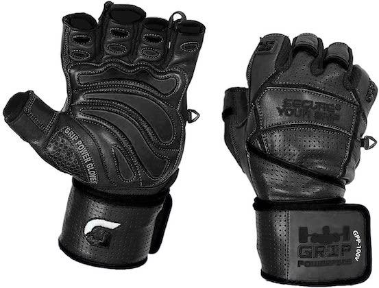 Grip Power pad weightlifting gloves