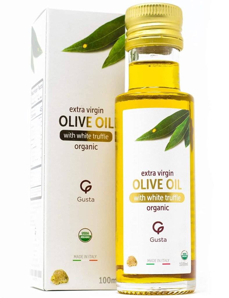 Gusta USDA Organic White Truffle Oil, Best Truffle Oil