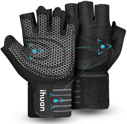 ihuan gloves, best weightlifting gloves for 2021