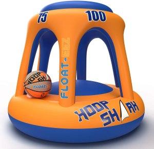 Hoop Shark Swimming Pool Basketball Hoop Set, best swimming pool games
