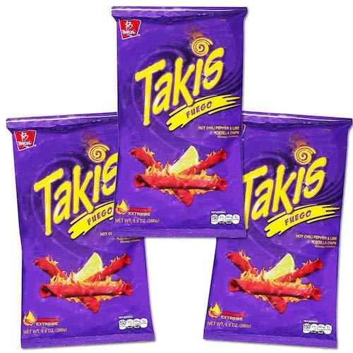 takis, best stoner snacks