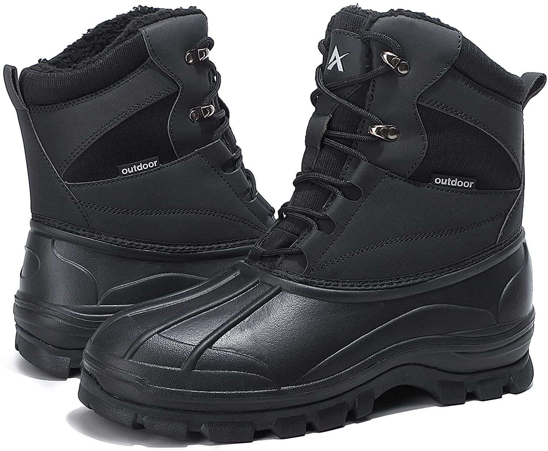 UPSOLO Mens Duck Boots
