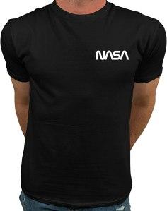small NASA logo t-shirt, best NASA merch