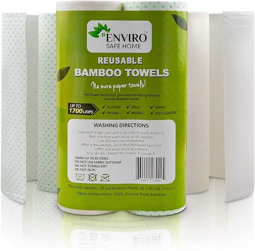 Enviro Safe Washable Bamboo Paper Towels