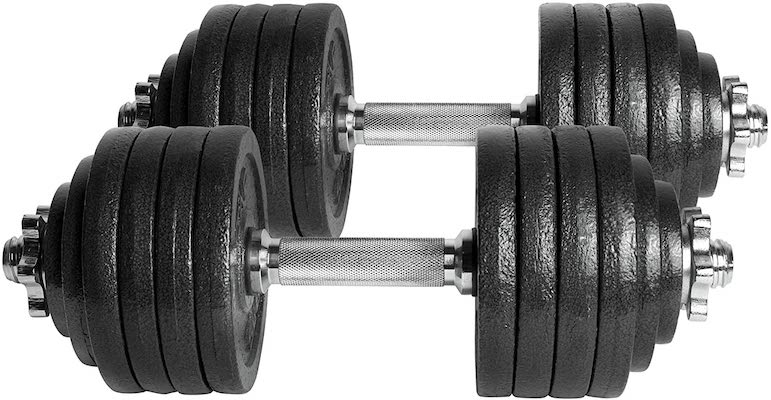 CAP adjustable dumbbell