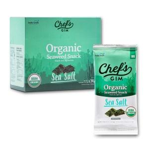 Chef's Gim Seaweed Snacks, Best Seaweed Snack