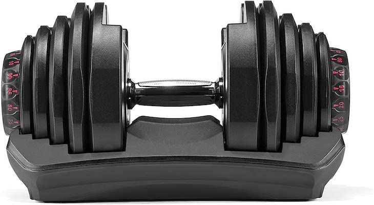 Bowflex adjustable dumbbell