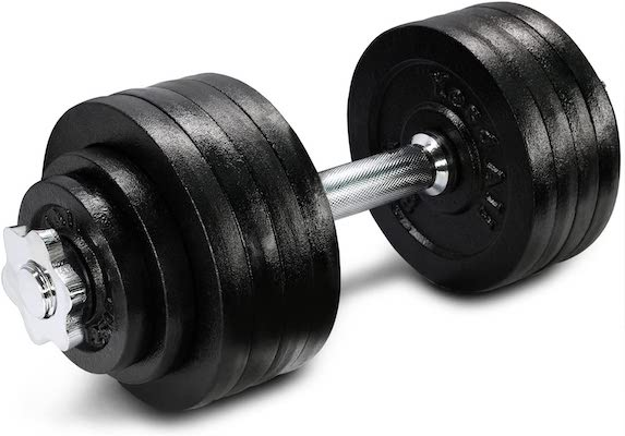 Yes4All adjustable dumbbell