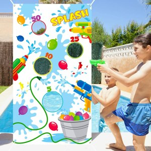 TICIAGA Toss Game Banner for Water Balloons