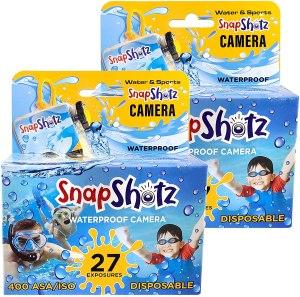 SnapShotz Disposable Waterproof Pool Underwater 35mm Camera