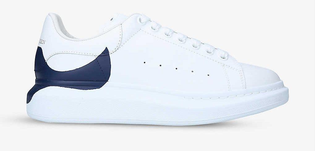 Alexander McQueen Show Leather Platform Trainers Best Designer Sneakers