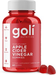 goli apple cider vinegar gummy vitamins