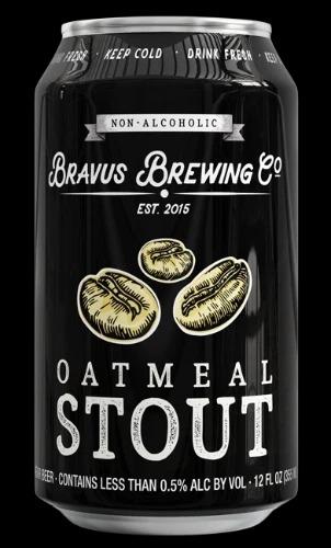 Bravus Non-Alcoholic Oatmeal Stout, Best Non-Alcoholic Drinks