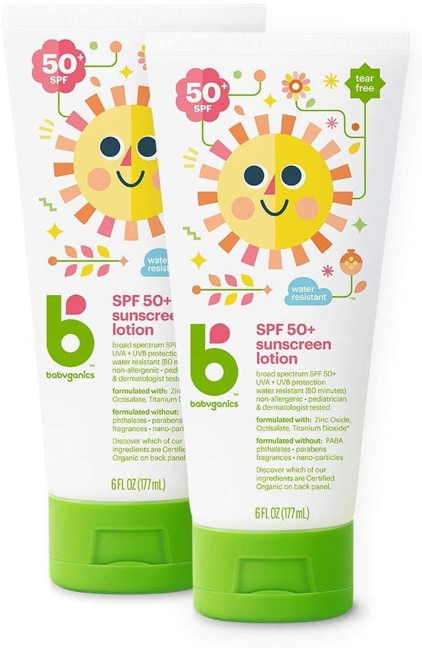 Babyganics Sunscreen Lotion 50 SPF