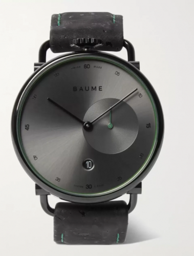 Baume Cork and Stainless Steel Watch