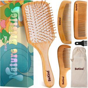 Bekind hairbrush set, how to go plastic free