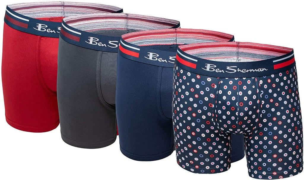 Ben Sherman Boxer Briefs designer men underwear