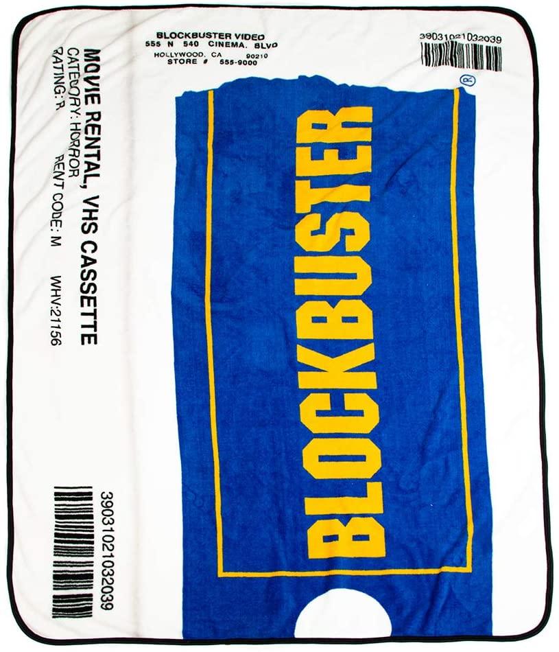 Blockbuster Fleece Throw Blanket