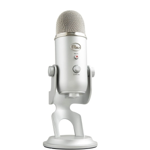 blue yeti mic, perfect Zoom setup