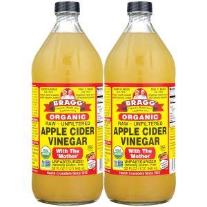 apple cider vinegar bragg organic raw unfiltered