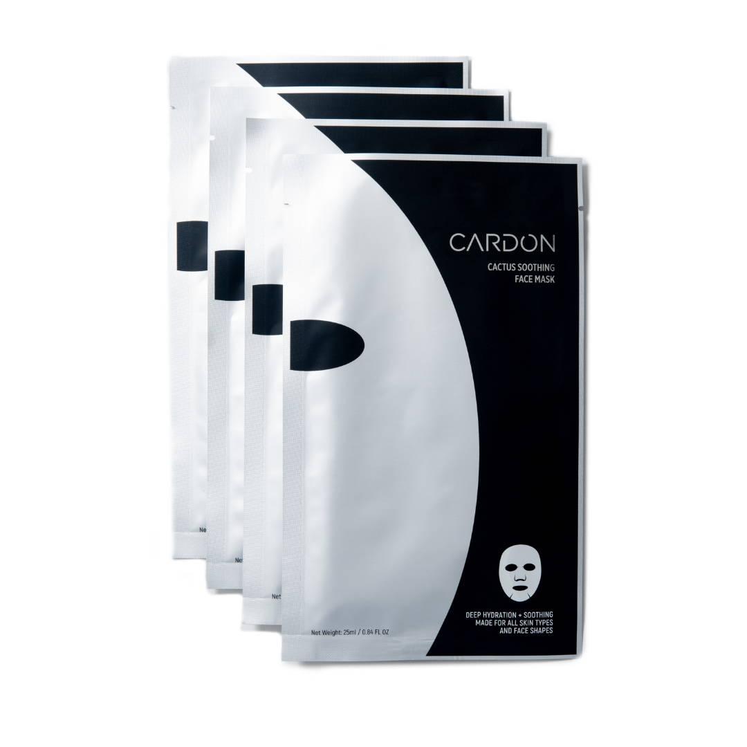 Cardon Men's Cactus Soothing Face Mask; best Korean face mask