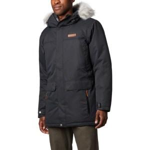 men's Columbia down parka, men's winter coats on sale