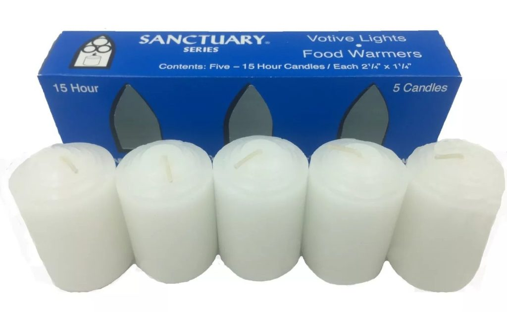 Continental Candle Food Warmer Votive Set