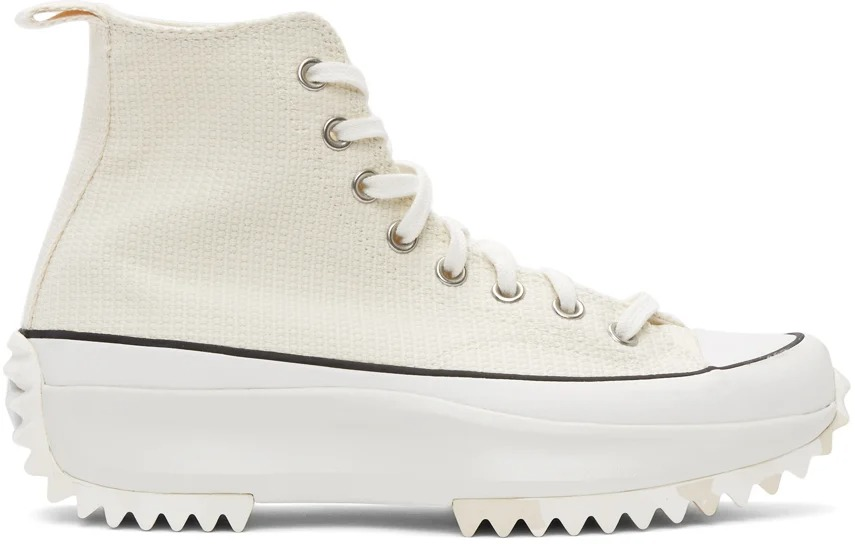 Converse Off-White Marble Run Star Hike Sneakers - Best Designer Sneaker