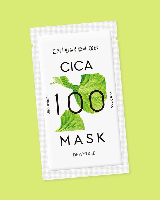 Dewytree Cica 100 Face Mask; best Korean face mask