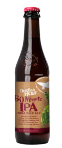 Dogfish Head 90 Minute IPA, the strongest beers