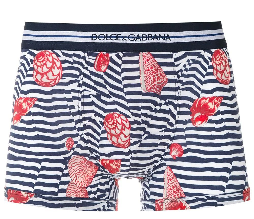 Dolce-and-Gabbana-seashell-striped-boxer-shorts