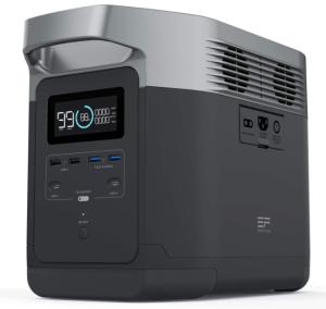 EF ECOFLOW Portable Powerstation Delta, best Solar-Powered Generator