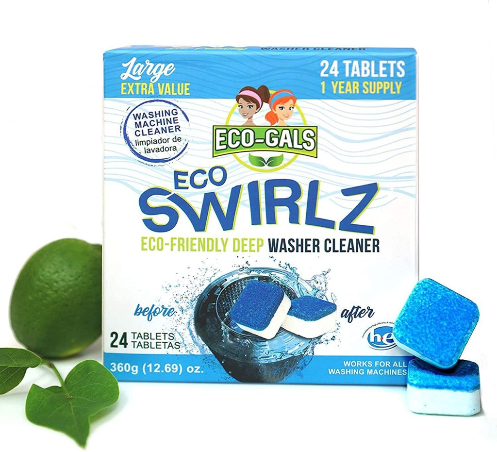 Eco-Gals Eco Swirlz Washing Machine Cleaner