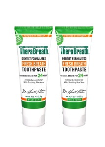 TheraBreath 24-Hour Fresh Breath Toothpaste, Best Toothpaste for Bad Breath