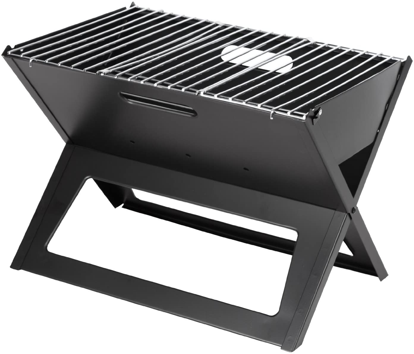 Fire Sense Black Notebook Foldable Charcoal Grill, best portable grills