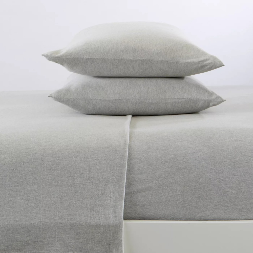 Great Bay Home Cotton Jersey Knit Sheet Set, Best bed Sheets