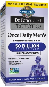 Garden of Life Once Daily Men's Probiotics, Best Probiotics for Men