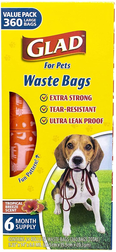 Glad for Pets Large Dog Waste Bags