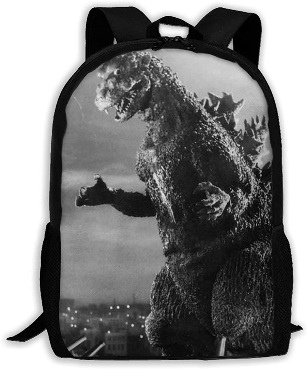 Retro Godzilla backpack