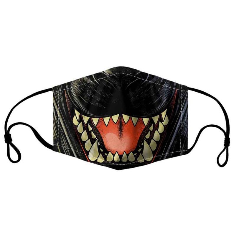 Godzilla Mouth Face Mask