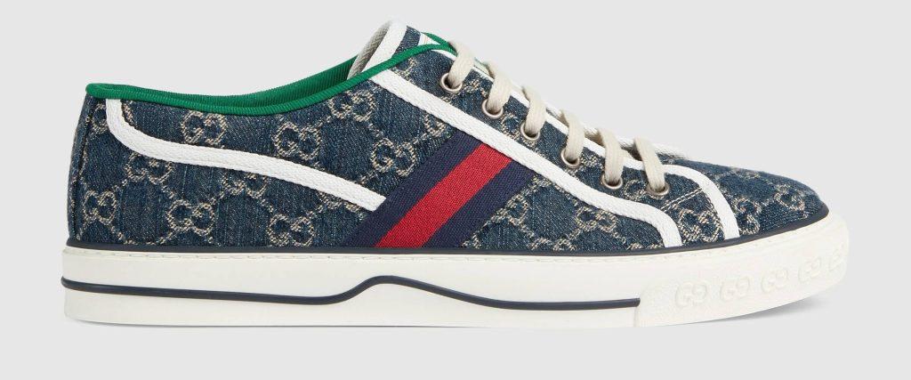 Gucci Tennis 1977 Denim Low Top Sneaker - Best Designer SNeaker