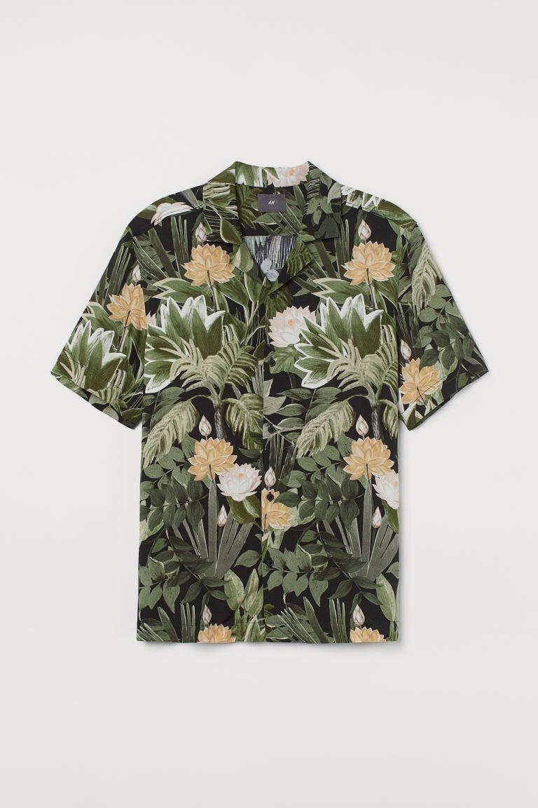 H&m resort shirt, best hawaiian shirts