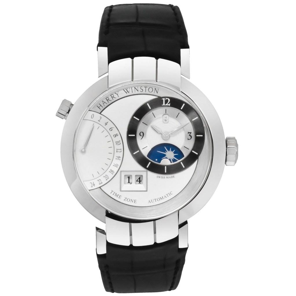 Harry-Winston-18K-White-Gold-Premier-Excenter-Manual-Wind-Mens-Watch-PRNATZ41WW002